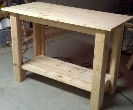 Comment construire un simple banc de travail